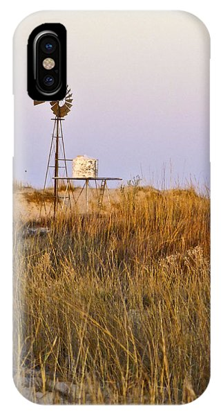 Windmill At Dusk 2011 IPhone Case