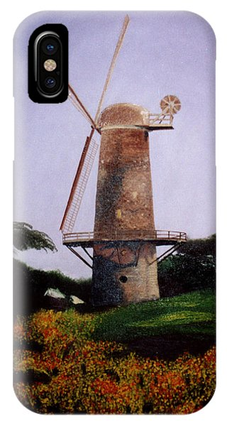 Windmill In Golden Gate Park IPhone Case