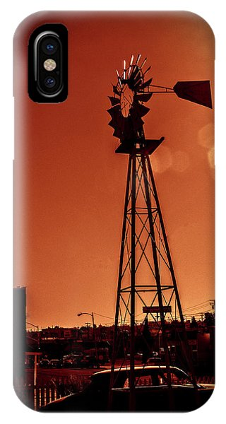 Windmill On Route66 IPhone Case