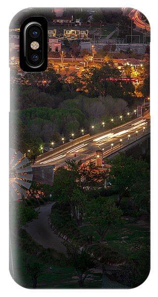 Windmill Over Niblick Bridge IPhone Case