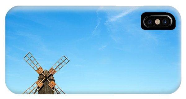 Windmill Portrait IPhone Case