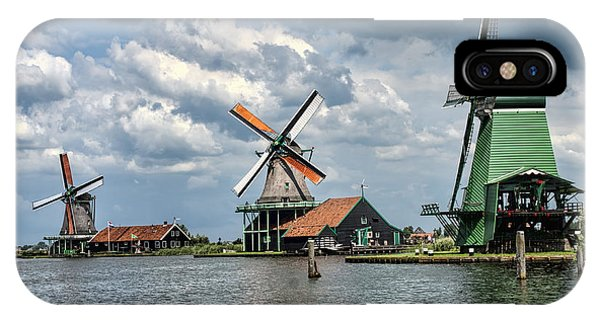 Windmill Trio IPhone Case