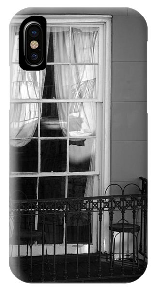 Window Access In Black And White IPhone Case