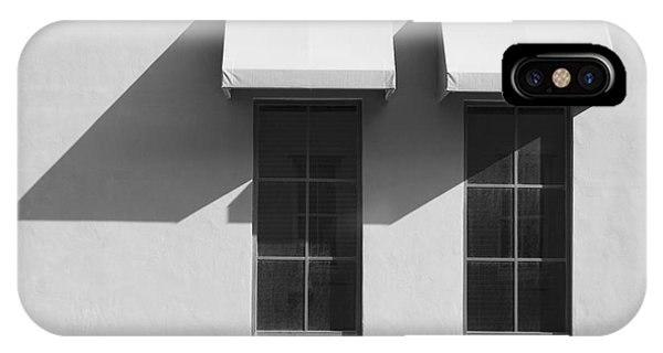 Window Awnings Shadows IPhone Case