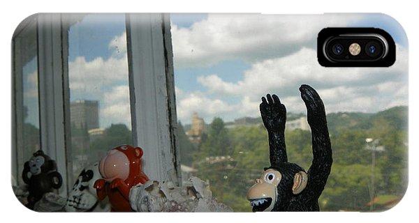 Window Buddies Phone Case by Bernie Smolnik