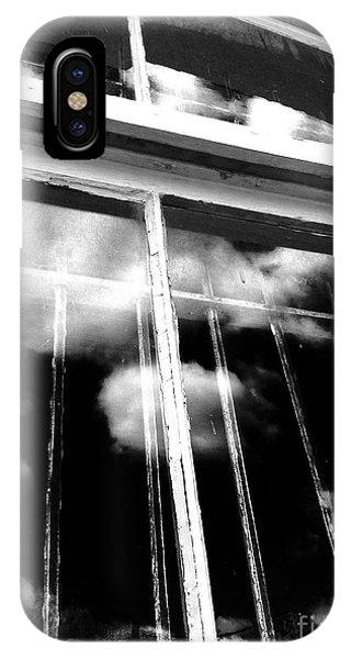 Window Clouds IPhone Case