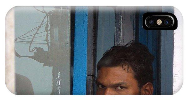 Window Man IPhone Case