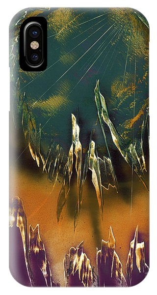 IPhone Case featuring the painting Reefs by Jason Girard