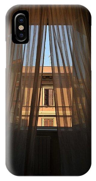 Window On Rome IPhone Case