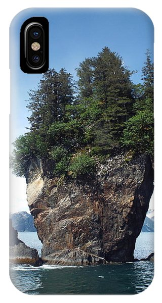 IPhone Case featuring the photograph Window Rock by Barbara Von Pagel