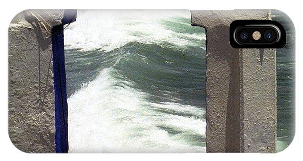 Window To The Ocean IPhone Case