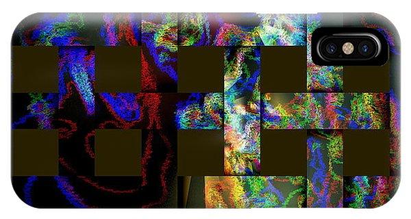 IPhone Case featuring the digital art Window by Visual Artist Frank Bonilla