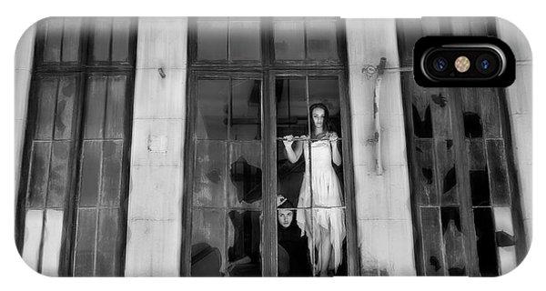 Abandon iPhone Case - Windows by Livia Corcoveanu