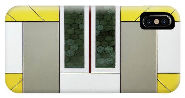 Facade iPhone Case - Windows by Lus Joosten