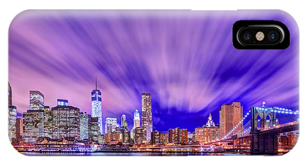 Winds Of Lights IPhone Case