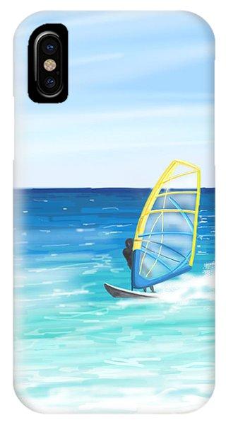 Windsurf IPhone Case