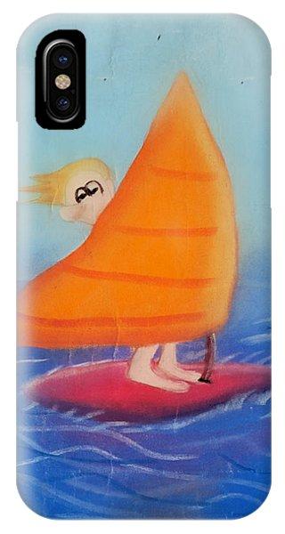 Windsurfer Dude IPhone Case