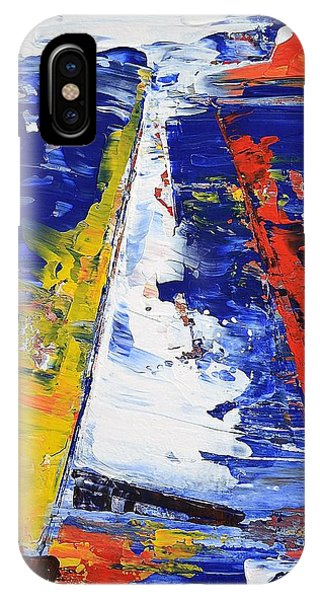 Windy Day At Sea IPhone Case
