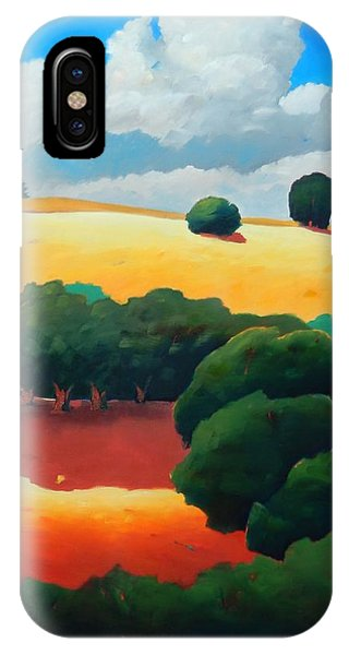Windy Hill Trip Panel 3 IPhone Case