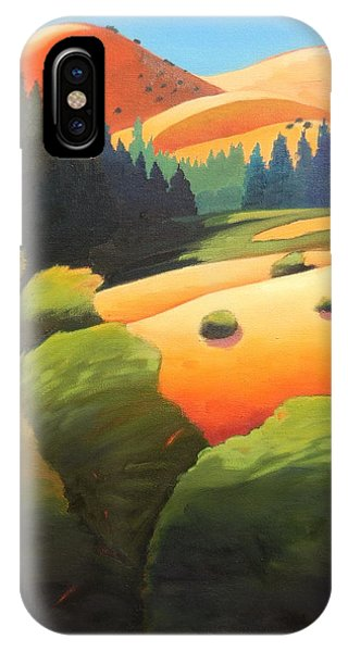 Windy Hill Trip. Revisit Panel One IPhone Case