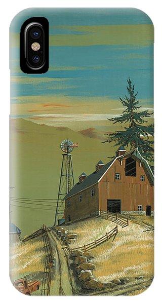 Windy Knoll Phone Case by John Wyckoff