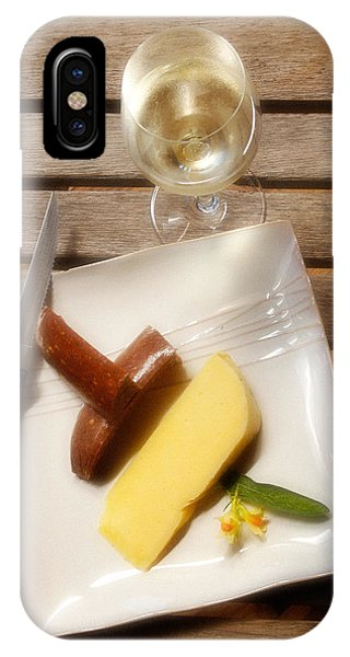 Wine And Cheese IPhone Case