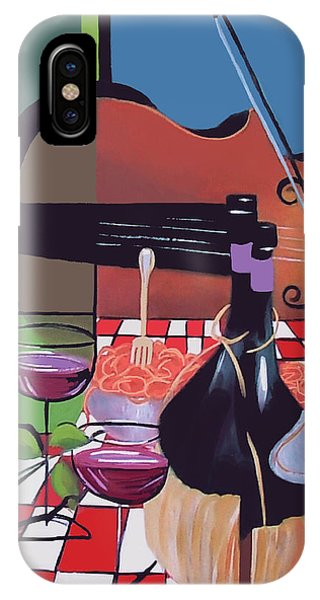 Wine And Roses IPhone Case