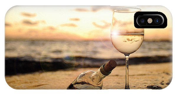 Bahamas iPhone Case - Wine And Sunset by Jon Neidert