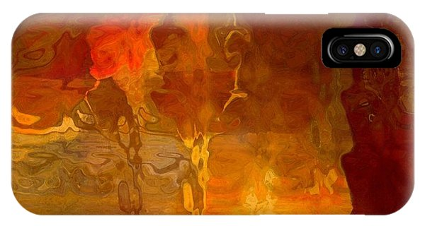 Wine By Candlelight IPhone Case