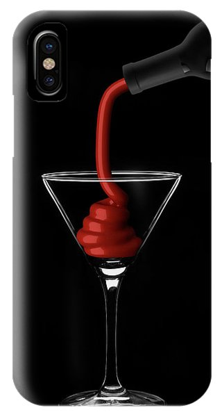 Wine Pouring iPhone Case - Wine by Naoki Matsumura
