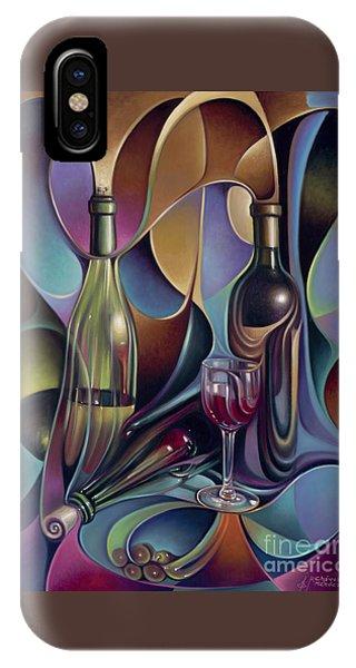 Wine Spirits IPhone Case