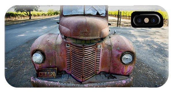 Wine Truck IPhone Case