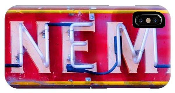 Wineman Neon Sign IPhone Case