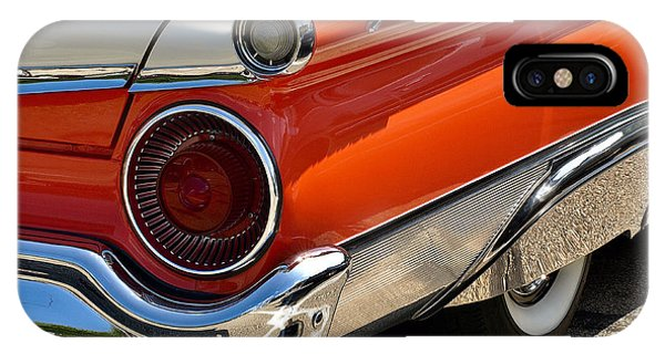 Wing And A Skirt - 1959 Ford IPhone Case