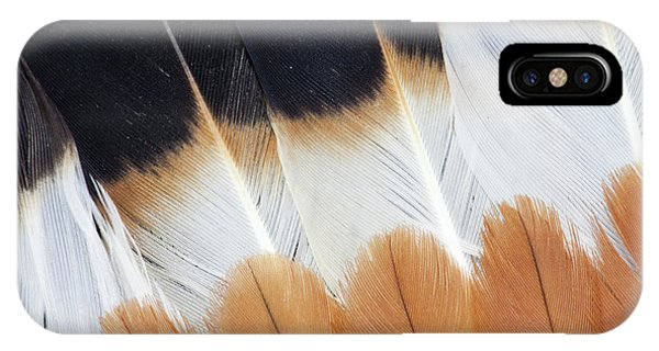 Wing Fanned Out On Northern Lapwing IPhone Case