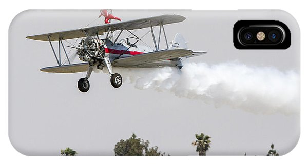 Wing Walker 1 IPhone Case