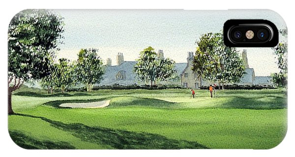 Winged Foot West Golf Course 18th Hole IPhone Case