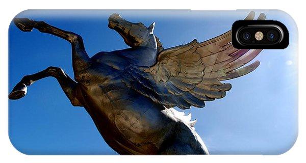 Winged Wonder I IPhone Case