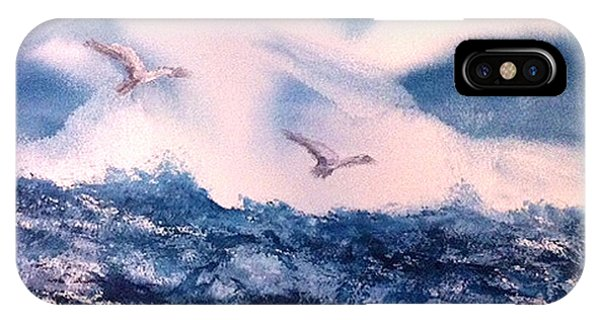 Wings Of The Wind Phone Case by Karen  Condron