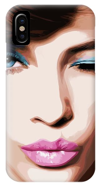 Wink - Pretty Faces Series IPhone Case
