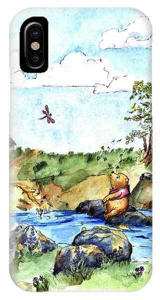 Classroom iPhone Case - Imagining The Hunny  After E  H Shepard by Maria Hunt