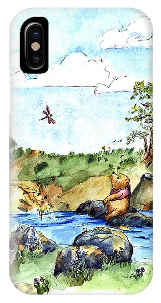 Adult iPhone Case - Imagining The Hunny  After E  H Shepard by Maria Hunt
