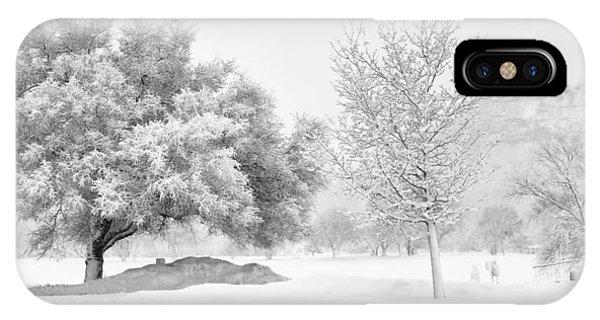 Winona Snowstorm IPhone Case