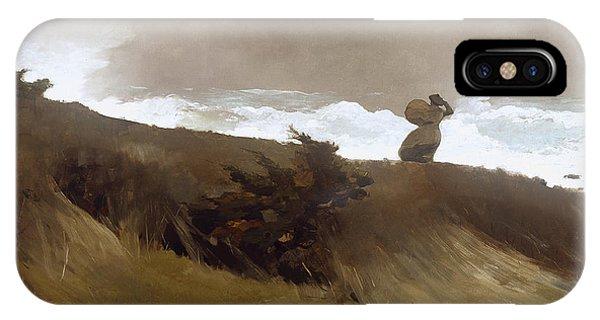 iPhone Case - Winslow Homer West Wind by Winslow Homer
