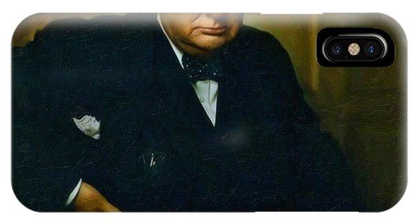 Winston Churchill IPhone Case