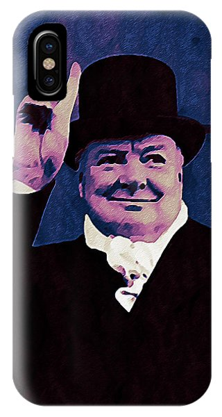 Prime Minister iPhone Case - Winston Churchill by Bill Cannon