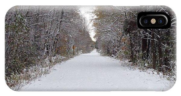 Winter A Lingering Season IPhone Case