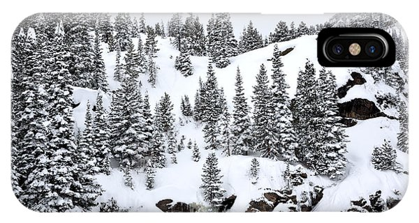 Winter At Bear Lake IPhone Case