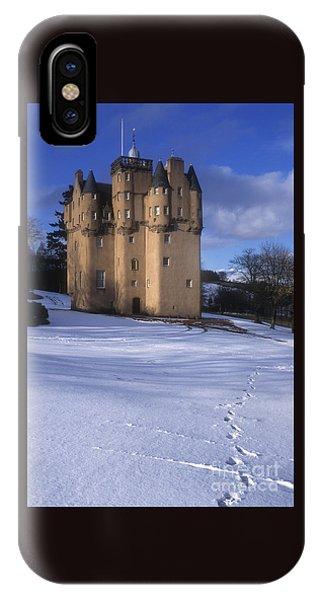 Winter At Craigievar Castle - Aberdeenshire IPhone Case