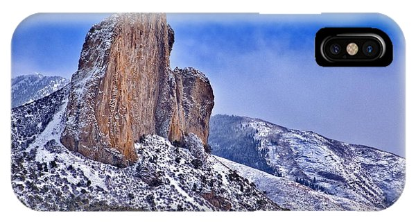 Winter At Needlerock IPhone Case
